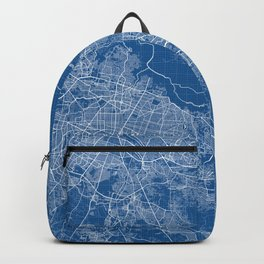 Guadalajara City Map of Mexico - Blueprint Backpack