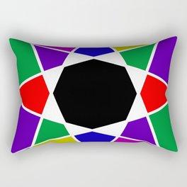 Compass abstract Rectangular Pillow