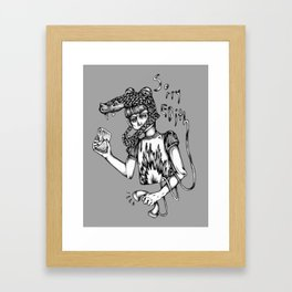 Sorry Edith Framed Art Print