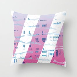 Abstract wings of freedom Throw Pillow