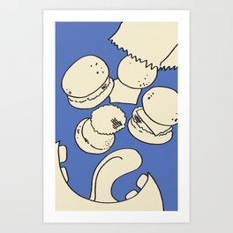 Slider Love Art Print