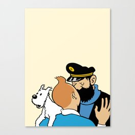 love&dog2 Canvas Print