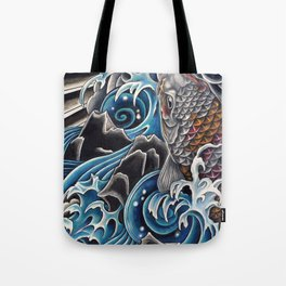 Koi by Sebastian Orth Tote Bag