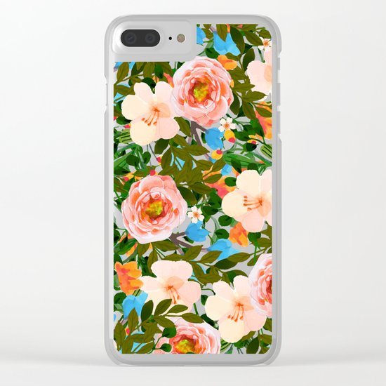 Rose Garden #society6 #decor #buyart Clear iPhone Case