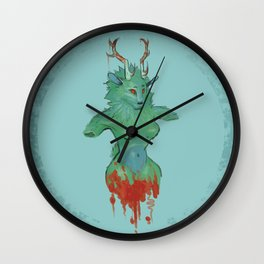 Nature's Woe Wall Clock