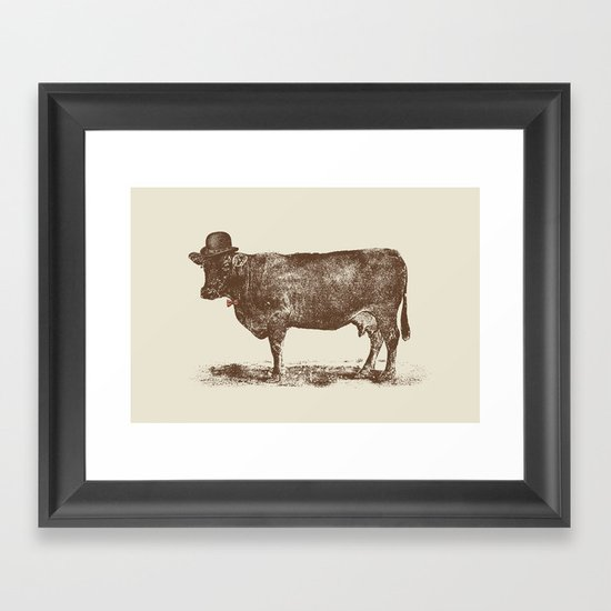 Cow Cow Nut #1 Framed Art Print