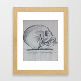 Skull* Framed Art Print