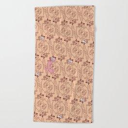 Smile My A$$ Beach Towel