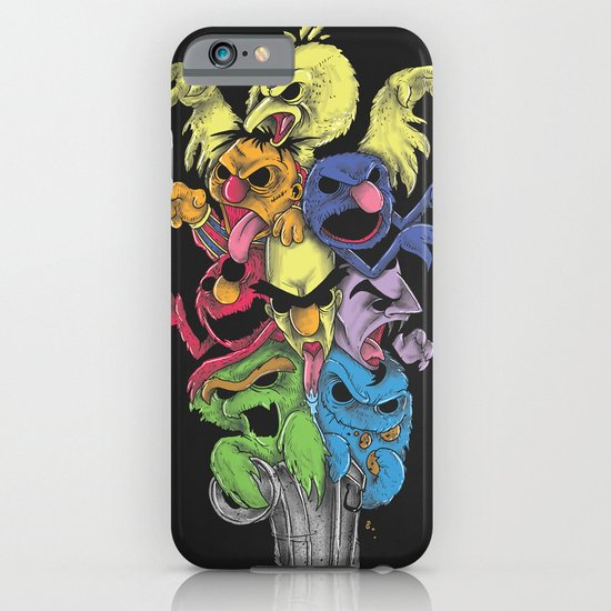 A Sesame Street Thriller iPhone & iPod Case