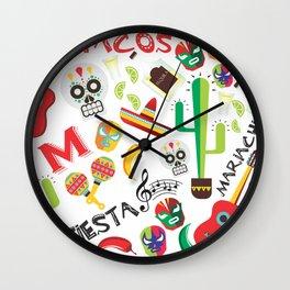 fiesta mexa Wall Clock