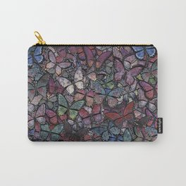 midnight fantasy butterflies aflutter Carry-All Pouch