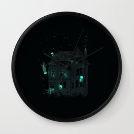 House of Jellyfish Wall Clock