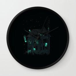 House of Jellyfish Wall Clock