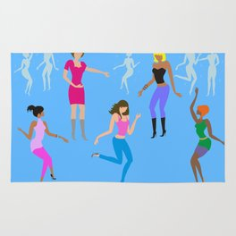 Dancing ladies Rug