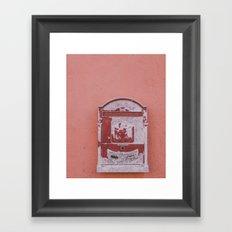 Write me Framed Art Print
