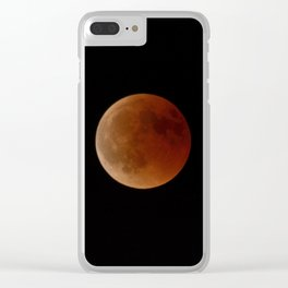 Total Moon eclipse 27 July 2018 Clear iPhone Case