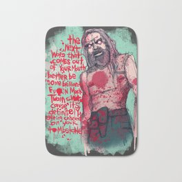 Chiseled On Your Tombstone Bath Mat