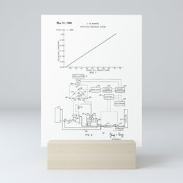 Electrical Measuring System Vintage Patent Hand Drawing Mini Art Print
