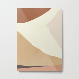abstract minimal 55 Metal Print