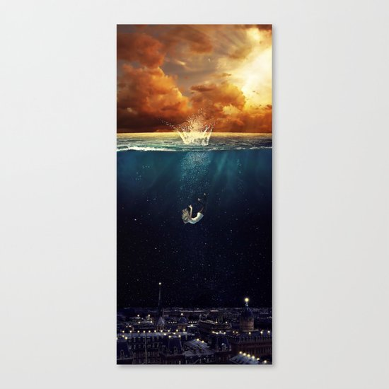 """Our Ends Are Beginnings"" - Limited Print Canvas Print"