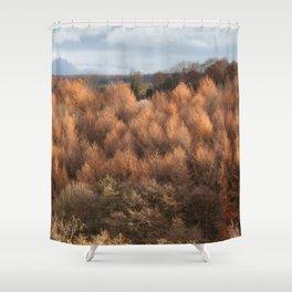 Autumn Larch Shower Curtain
