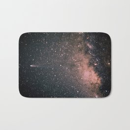 Halley's Comet and the Milky Way Bath Mat