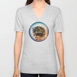 Planet Kaimuki Unisex V-Neck