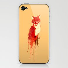 The fox, the forest spirit iPhone & iPod Skin