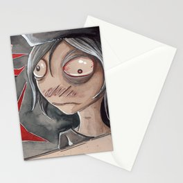 Hangman flinches Stationery Cards