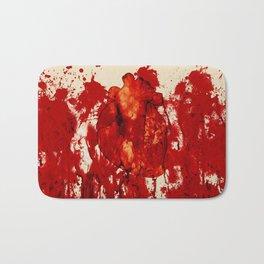 Blood Heart Bath Mat
