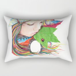 If Mother Earth Was a Child... Rectangular Pillow