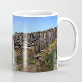Svartifoss Waterfall, Skaftafell, Vatnajökull National Park, Iceland (2) Coffee Mug