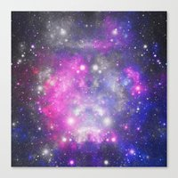 universe Canvas Prints featuring Universe by haroulita
