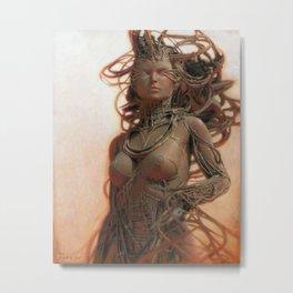 Gynoid IV Metal Print