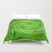racing Duvet Covers featuring Racing.... by Cherie DeBevoise