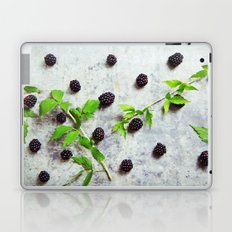 Scattered Blackberries Laptop & iPad Skin