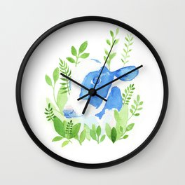 Chester the Rescued Cow Wall Clock