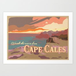 Cape Cales Art Print