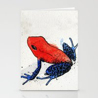 frog Stationery Cards featuring Frog by Jacob Haynes
