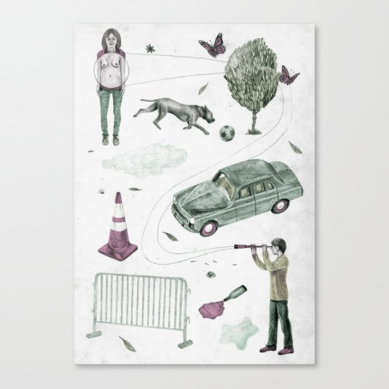 Invention  Canvas Print