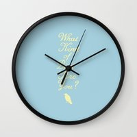 moonrise Wall Clocks featuring Moonrise by Skeleton Jack