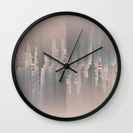 Reversible Space A+B Wall Clock
