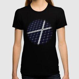 Solar power panel T-shirt
