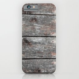 Wood II landscape iPhone Case