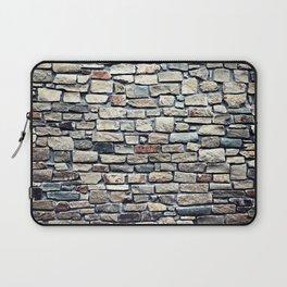 Grey tiles brick wall Laptop Sleeve
