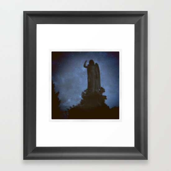 Forest Hills Cemetery Framed Art Print