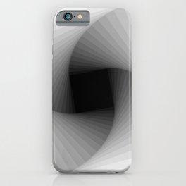 Square spiral - Bright iPhone Case