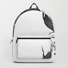 Twin flames. Backpack