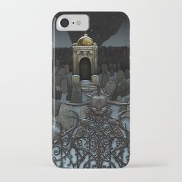 The Frozen Cemetary iPhone Case
