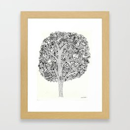 The Tree that never Fails Framed Art Print